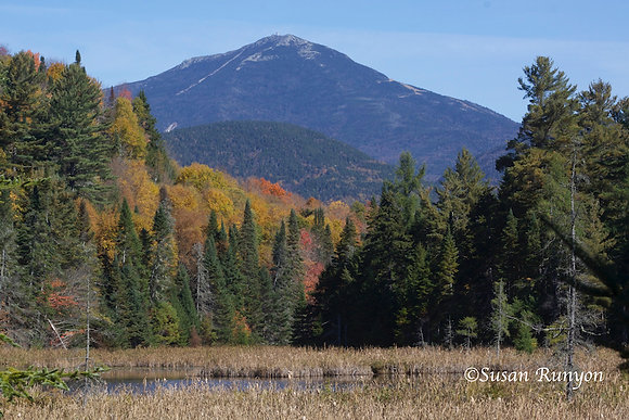 13 - Whiteface Mountain from Cherry Patch Pond