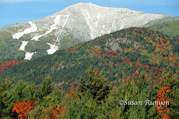 First Snow on Whiteface