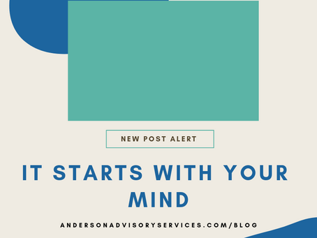 It Starts With Your Mind