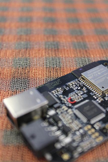 textile matrix pressure sensor