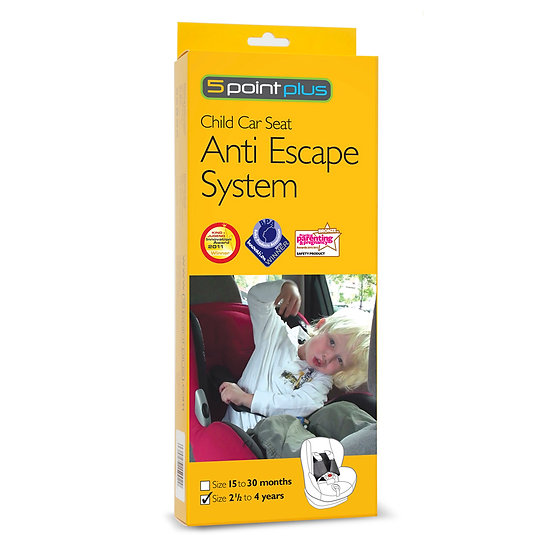 5 POINT PLUS - ANTI ESCAPE SYSTEM