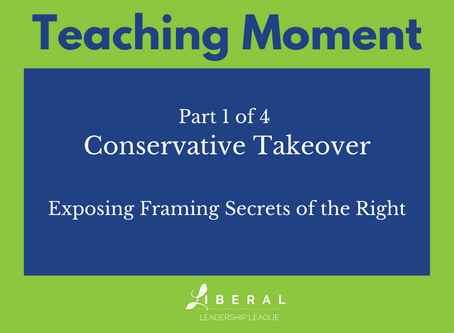 Part 1: Conservative Takeover