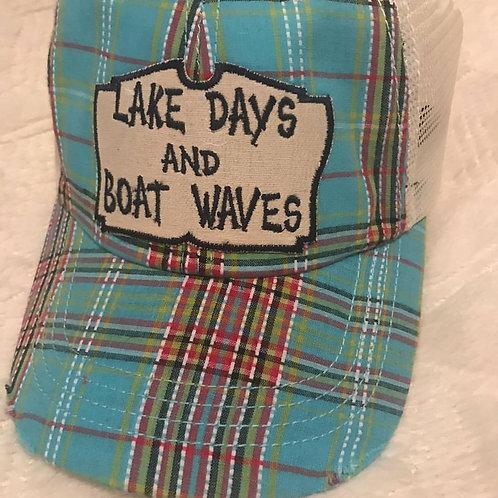 Lake Days and Boat Waves