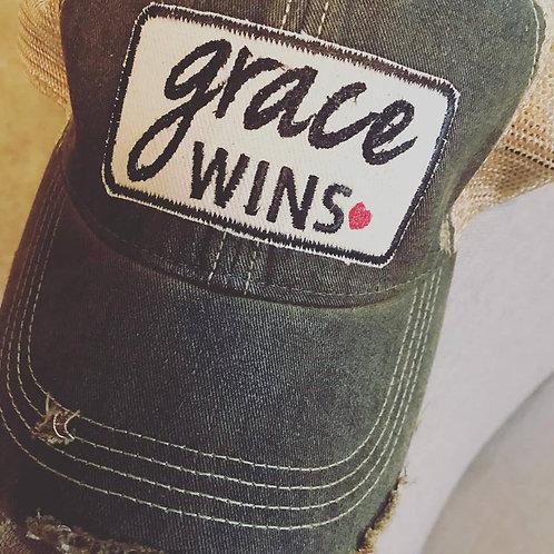Grace Wins hat