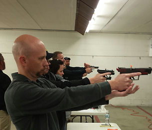 CPL Classes at a heated in door range
