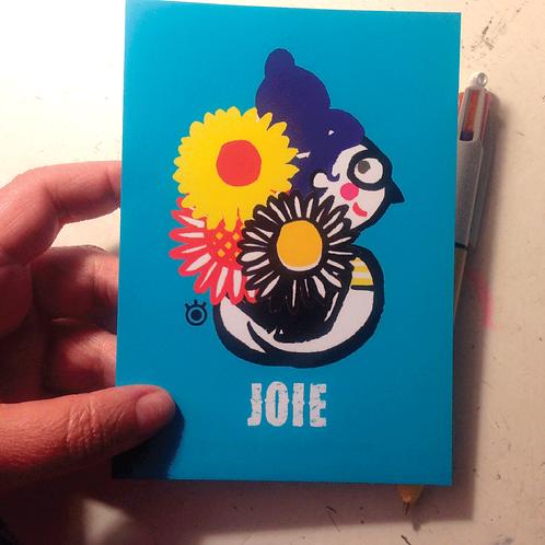 JOIE - carte postale