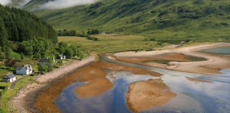 Undichte Fugen in Schottland