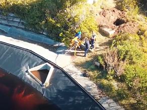 Kirstenbosch Gardens erlaubt SaniTube Liner für Reparaturen
