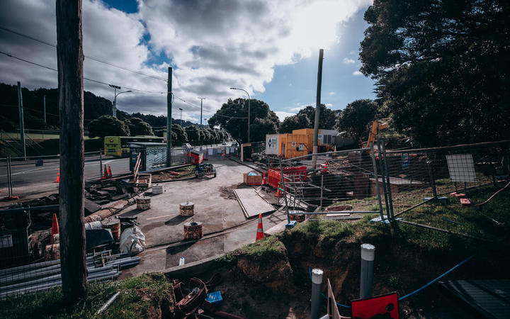 Job site for SaniTube pipe repair liner in Wellington Water, New Zealand.