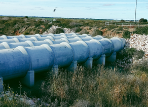 Amex© Seals rehabilitate remote irrigation pipe in Australia