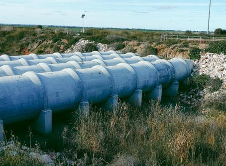 Amex© Seals rehabilitate remote irrigation pipe in Australia