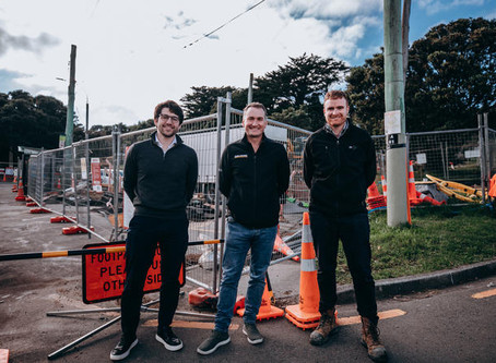 SaniTube spart Wellington Wasser 100,000 NZD pro Tag