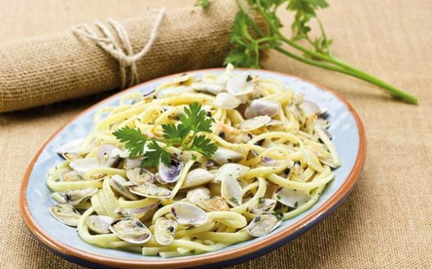 Linguine alle arselle