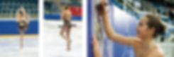 Erfolgreiches individuelles Eiskunstlaufkleid