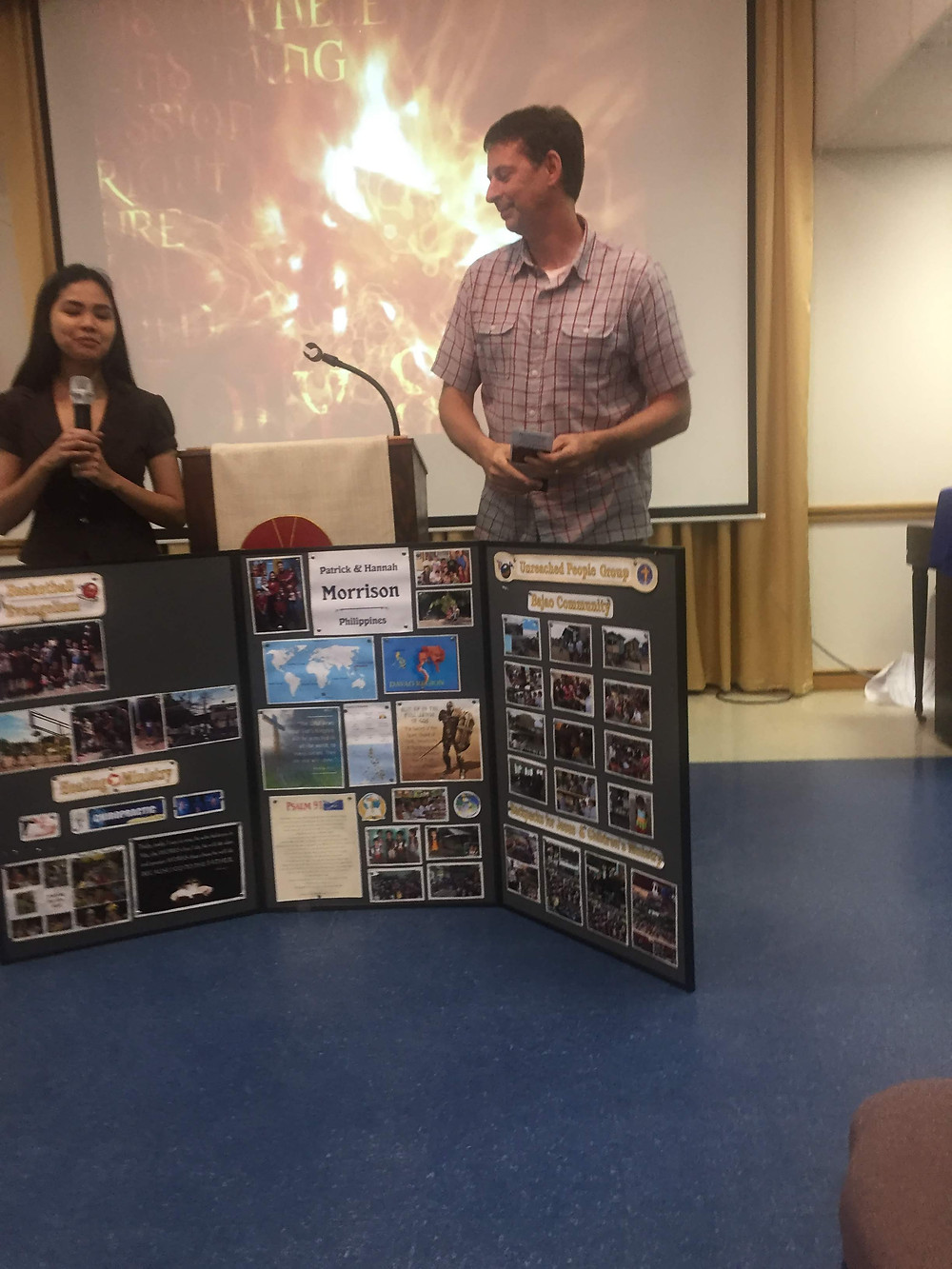 Hannah Morrison (left) and Patrick Morrison (right) tell us about the exciting things God is doing