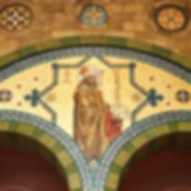 St. Aedan's mosaic
