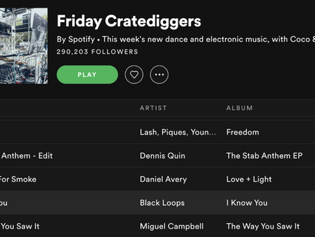 Friday Cratediggers: The Way You Saw It!