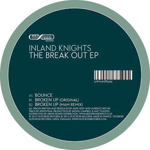 """Inland Knights - The Break Out [12"""" Ep]"""
