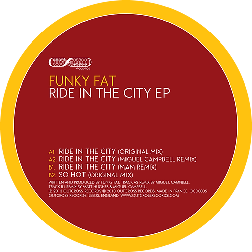 "Funky Fat - Ride In The City [12"" Ep]"