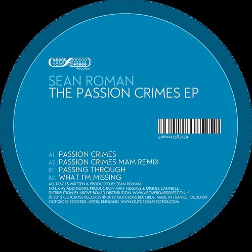 """Sean Roman - The Passion Crimes [12"""" Ep]"""