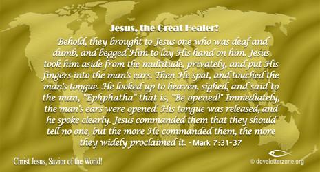 Meet the Great Healer