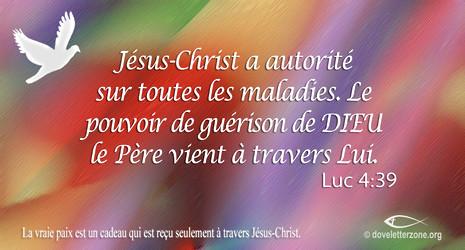Guérison   Cherchez Christ Jésus