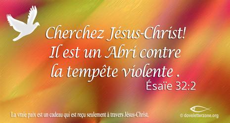 Trouvez la paix en Jésus-Christ