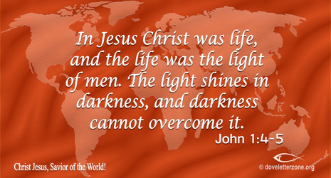 The Light that Darkness cannot Overcome