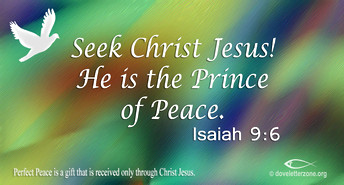 Find Peace in Christ Jesus