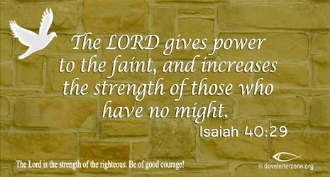 Weakness | Seek the Lord