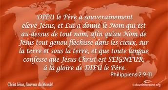Il y a puissance dans le nom de Jésus