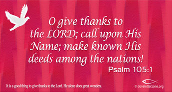 Give Thanks to the Lord