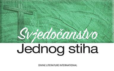 Croatian-Svjedočanstvo Jednog stiha.jpg