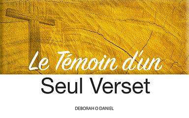 Français-Le témoin d'un seul verset.jp