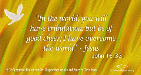 Discouragement | Be of Good Cheer