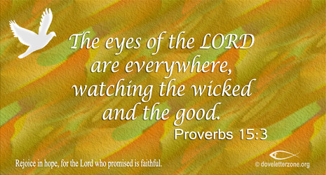 Wickedness | The Just God Observes all things