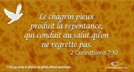 Un appel à la repentance