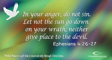 Lingering Anger | Resist the Devil
