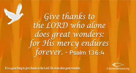 Acknowledge the Goodness of the Lord
