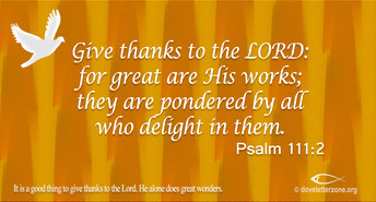 Be Thankful - Great Things He has Done