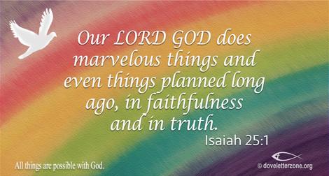 Lack of Faith