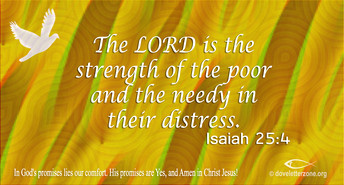 Poverty | Look up to the Lord