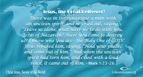 Demons Acknowledge the Authority of Jesus Christ