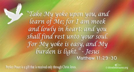 Find Rest in Christ Jesus