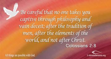 Deception and False Teaching