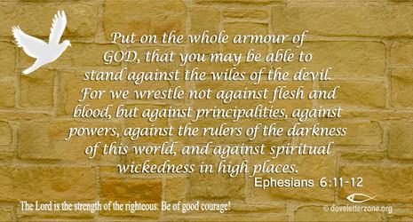 Spiritual Warfare   The Enemy is Satan