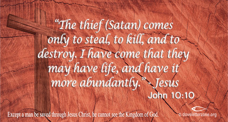 The Thief Comes - Christ Conquered!