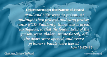 There is Deliverance in the Name of Jesus