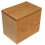 Thumbnail: Solid Oak Cremation Urn - Handmade in Winnipeg