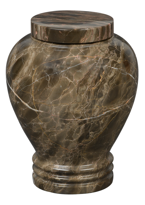 Tiger Eye | Solid Natural Marble Cremation Urn